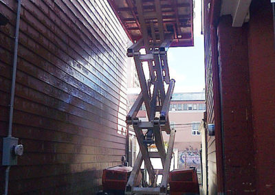 the-passionate-painter-scissor-lift-certified-paint-exterior-tall-houses-before